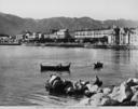 Veduta della passeggiata del Foro Italico, a Palermo