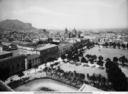 Panorama of the city of Palermo from the Observatory