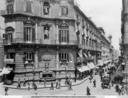 Fa�ade of a building at the Quattro Canti (Four Corners), Palermo