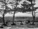 Veduta panoramica di Alghero da Villa Bolasco, Sassari