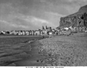 Panoramic view of Cefal� from the beach
