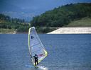 Windsurf sul lago del Bilancino