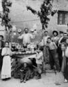 Venditore di angurie, Napoli