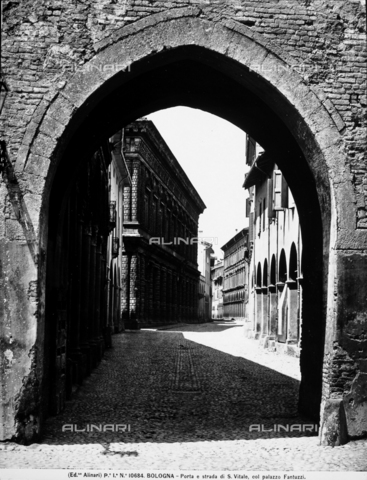 Alinari - Porta san vitale bologna ...