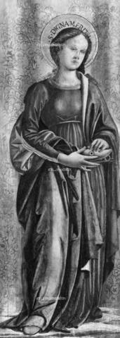 Lodovico di Angelo Mattioli (1481-ca 1525): St Dignamerita, Galleria Nazionale i Perugia