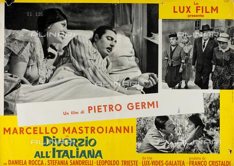 Divorce à l'italienne, avec Marcello Mastroianni (1961) TEA-F-M07722-0000