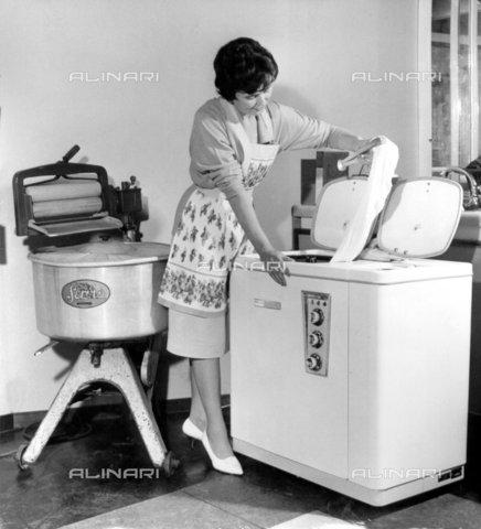 Alinari for Lavatrice doppio cestello